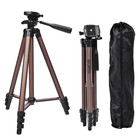 FOSOTO WT3130 Aluminum Alloy Mini Camera Tripod Stand With Phone Holder For Canon Nikon Sony DSLR Digital Camera DV Camcorder