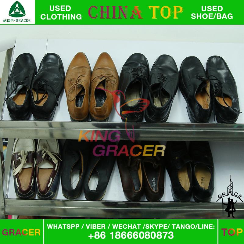 Top Quality Branded Used Leather Mens Shoes In Bales For Sale