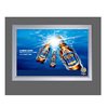 Hot sale direct selling A3 led light box poster Aluminum frame for outdoor advertising