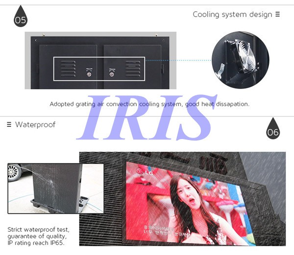 Portable Vms Trailer With Video Led Display/screen Full Color ...