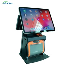 PTKSAI hepsi Bir <span class=keywords><strong>POS</strong></span> Tablet Sistemi <span class=keywords><strong>Standı</strong></span> Yazıcı iPad Android Windows Tablet <span class=keywords><strong>POS</strong></span>