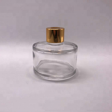 High Quality Popular 50ML Reed Diffuser Empty Glass Bottle Cosmetic Perfume New Fragrance Glass Bottle with Aluminum Cap
