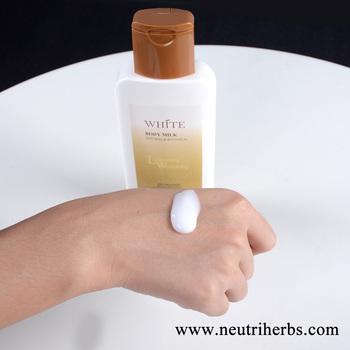 lait de corps eclaircissant sans hydroquinone