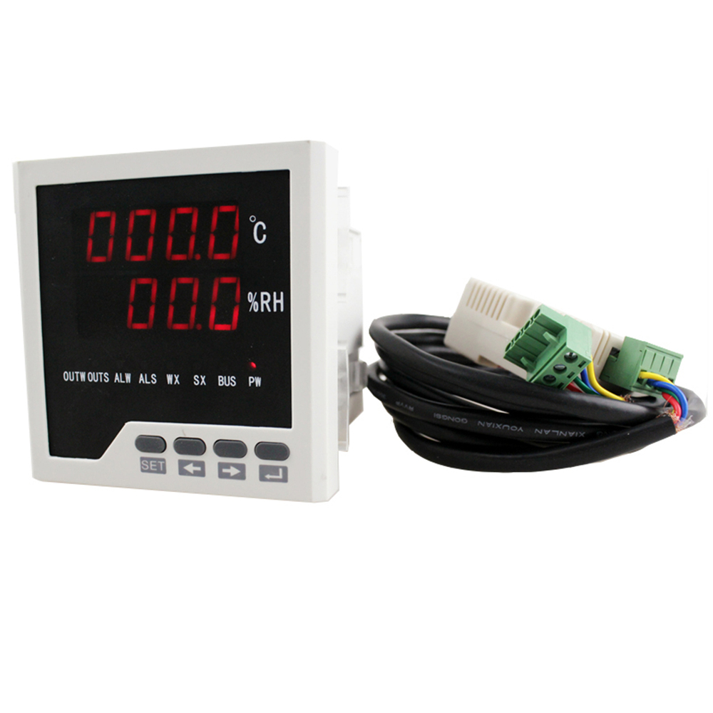 WSK-303 panel size 96*96mm LED digital display industrial usage <strong>temperature</strong> and humidity controller, incubator controller