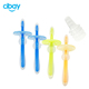 Best toothbrush shape design silicone baby teether