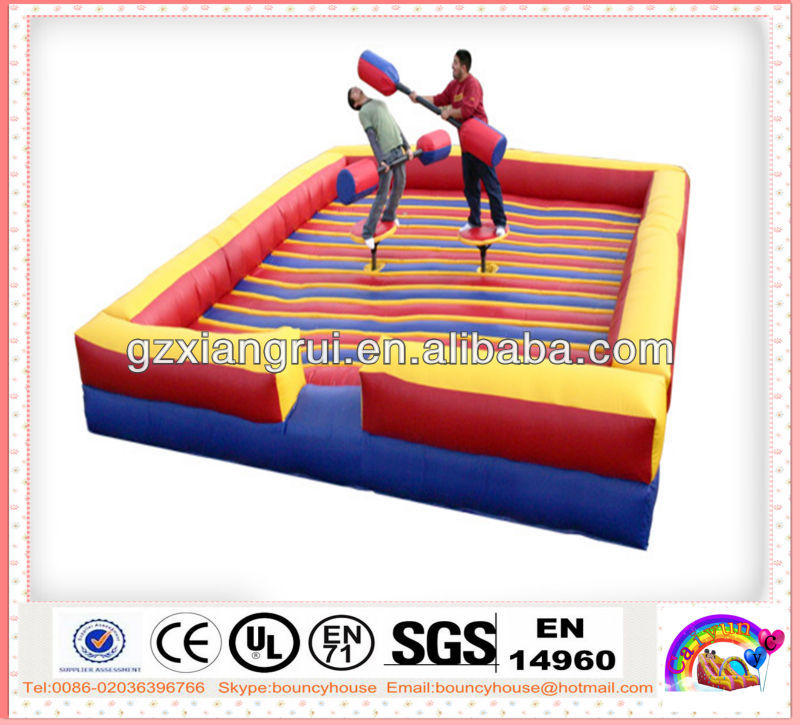 CY-inflatable sport games,blow up gladiator joust arena,inflatable Gladiators Battle