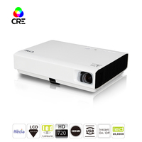 2019 factory wifi android DLP led projector for game/movie LCD mini huawei smartphone home projector mini pico led projector