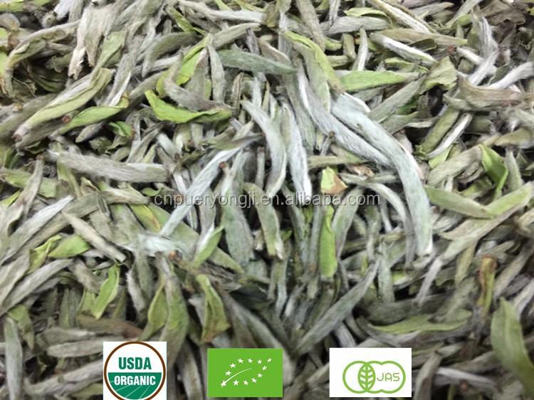 Organic Silver Needle White Tea Bai Hao Yin Zhen Top Grade White Tea - 4uTea   4uTea.com