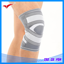 QH-9314 Medical / Sport Professional knited knee Support /Strap /Brace/ Pad /protector knee pad Badminton Basketball
