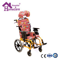 Adjustable automated aluminum wheelchair with 4 wheel