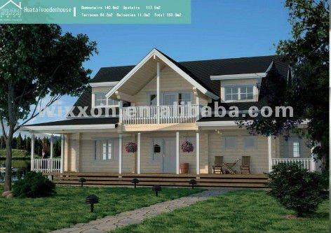 lujo casa madera
