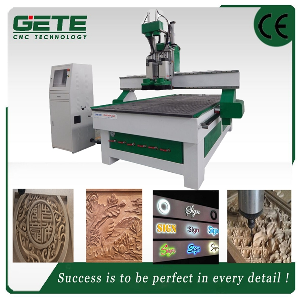 Best Choice omni 1325 2 spindles engravingcnc router Wood Board