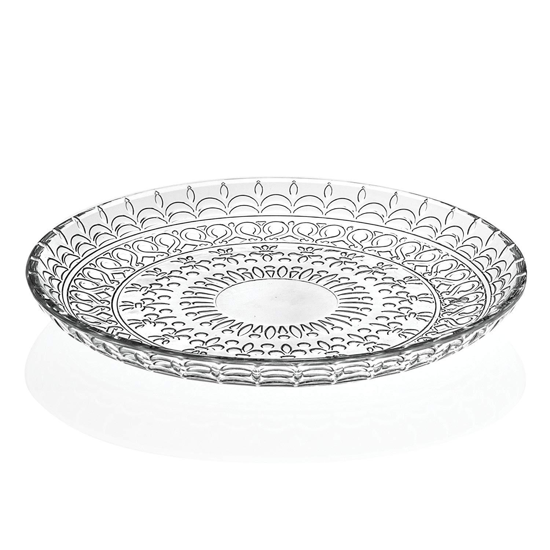 "Lorenzo Import Medici 4 Piece 8.5"" Bowls, Clear"