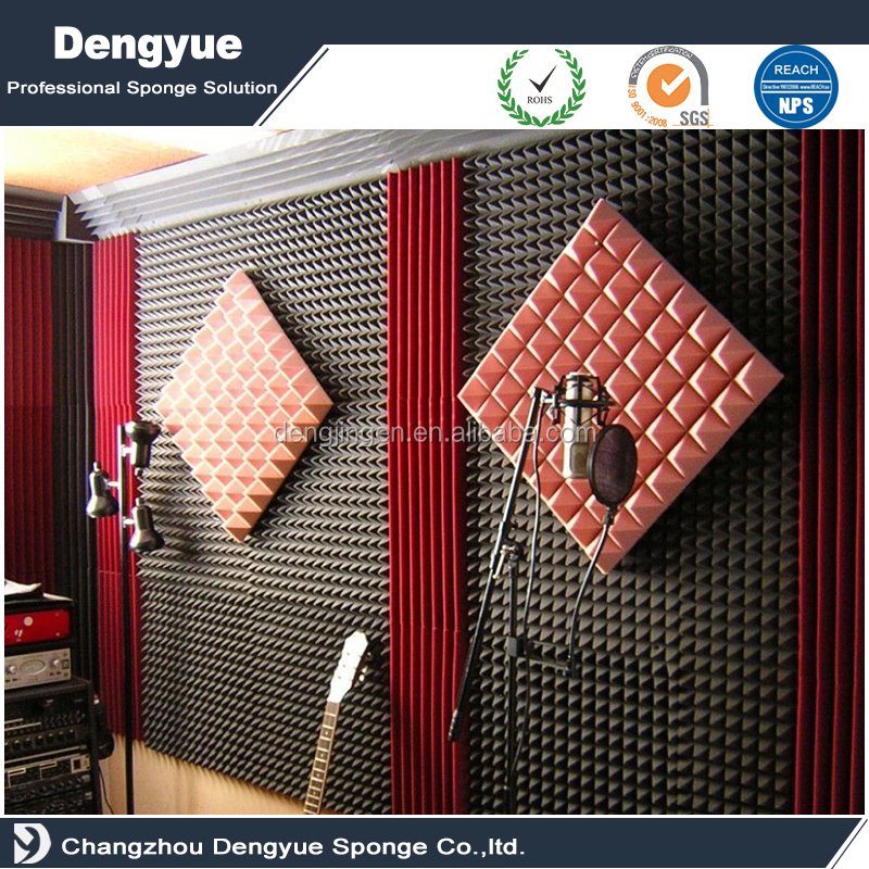 High Density Pyramid Acoustic Foam Panels for sale