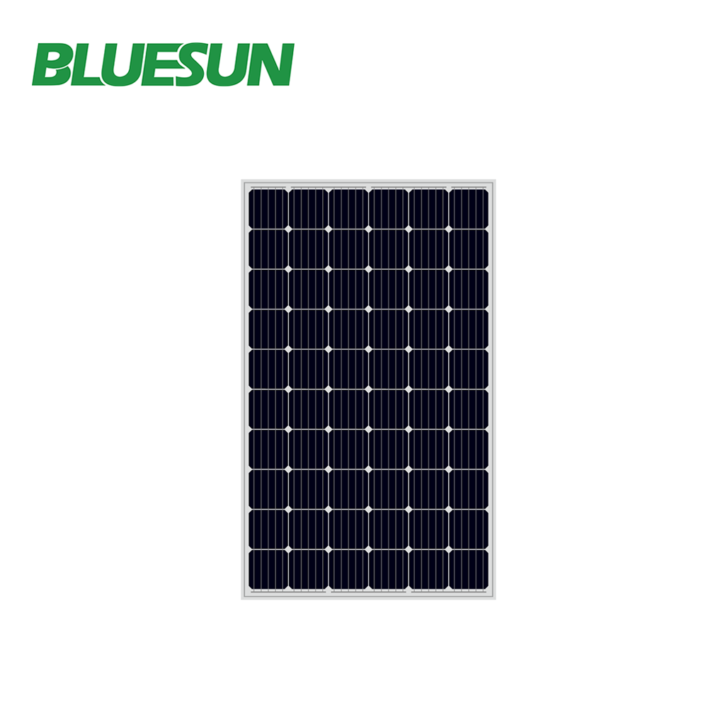 Bluesun brand hot sale mono 280w solar panel pallets pv supplier from china