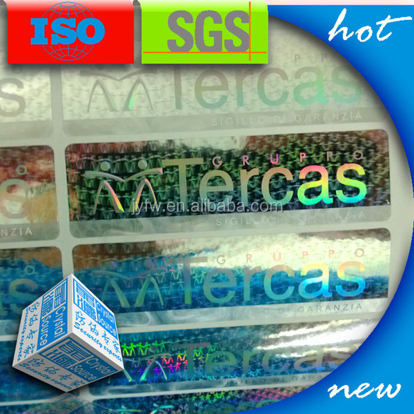 Heat senstive transfer hot stamping foil label