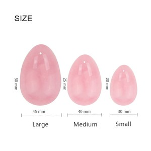 2019 Amazon hot selling 3 pieces/set natural jade yoni eggs for wholesale in stock