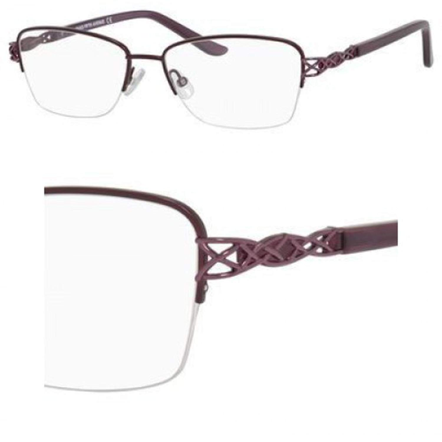 Eyeglasses Saks Fifth Avenue 300 0EC2 Eggplant