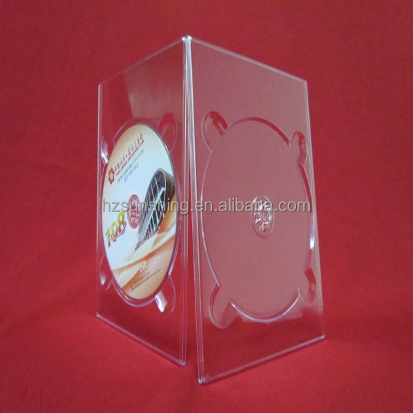 OEM PS Off-Center hub 1-DVD DIGI Tray without DVD logo Clear