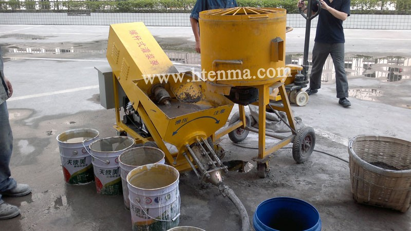 Strong Stator And Rotor 110V 220V Mortar Spraying Machine