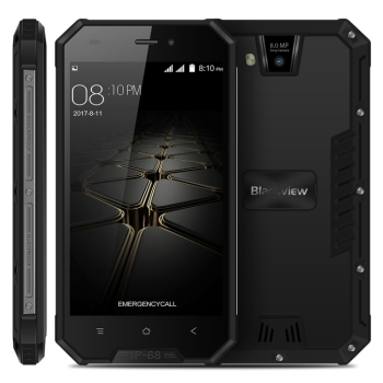 Dropshipping New Blackview BV4000 Pro Triple Proofing Phone 2GB+16GB IP68 Waterproof 4.7 inch Android 7.0 rugged mobile phone