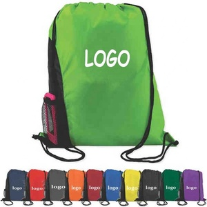 OEM polyester bag new products name sport travel nylon drawstring bag