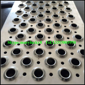 Perforated Anti Skid Grating Perforated Steel Plank