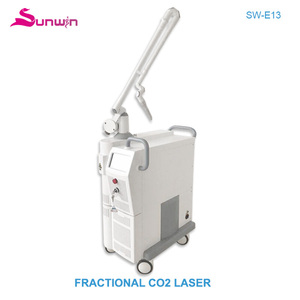 New technology face lift short-time ISO13485 approval germany scanner RF tube CO2 fractional laser beauty equipment