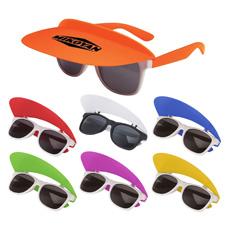 Harga Yang Kompetitif Logo Dicetak Klasik Dua Nada Bingkai Mata Memakai UV 400 Protection Lipat Ray Kecil Rivet Grosir Kacamata Hitam