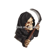 boutique personalizzato Grim Reaper <span class=keywords><strong>busto</strong></span> statua <span class=keywords><strong>busto</strong></span> urlando modelli ingrosso