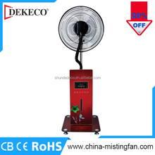 Portable outdoor greenhouse water mist fan with spare parts evaporative air cooler