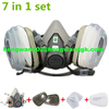 3M 6200 Painting Protection Respirator Painting Spraying Face Mask/Gas Mask