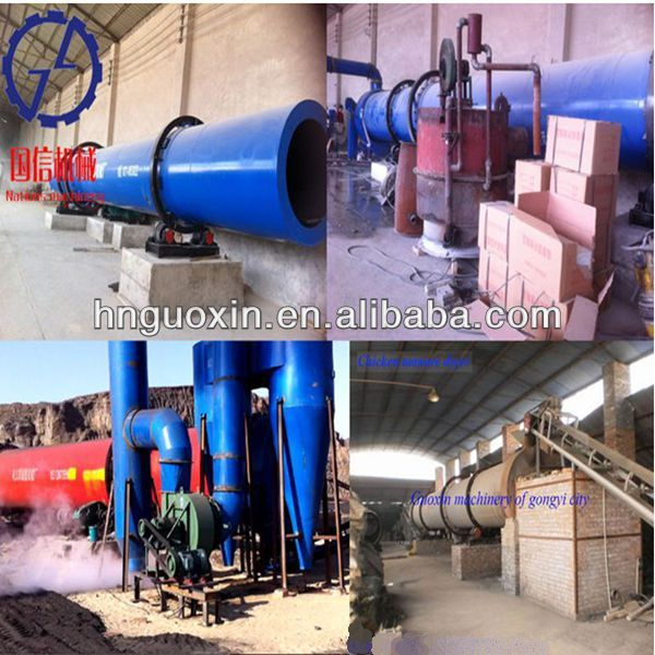 CE Proved Saving Energy and Labors Copper Slag Dryer