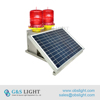 Solar Powered Medium Intensity Double Obstruction Light/Aircraft Warning Lights