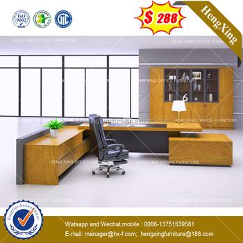 2018 Hot Sells Office Furniture High Quality Modern Design Wooden Furniture  U0026 Office Desk (HX
