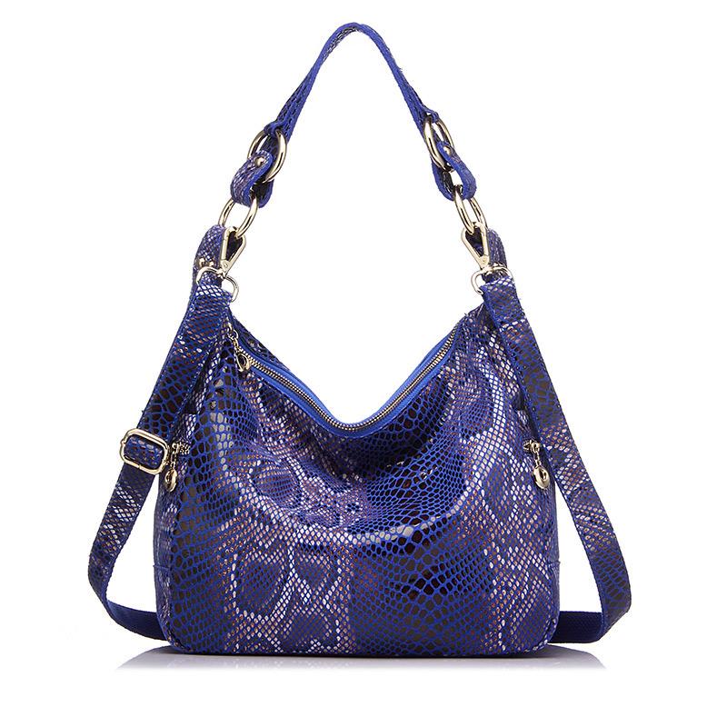 REALER женские сумки из натуральной кожи, женская классическая сумка-тоут с принтом под змеиную кожу, классические сумки через плечо, женская с...(Китай)