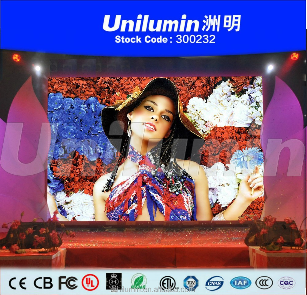 HD P3.91 SMD full color rental LED display screen / Indoor led video display / P3.91LED video wall