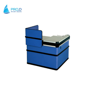 Modern Design Cashier Desk Supermarket Retail Cashier Checkout Counter Cosmetic Shop Counter Design
