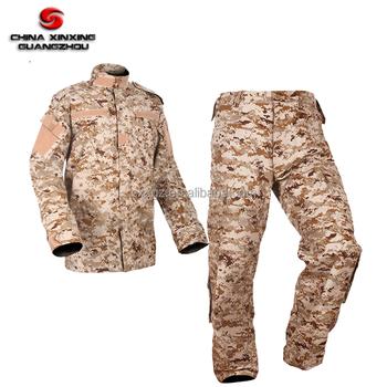 Tc 65/35 Desert Digital Camouflage Military Fatigue Acu Army Combat Uniform  - Buy Khaki Acu Jacket Coat,Desert Digital Camouflage Army Uniforms