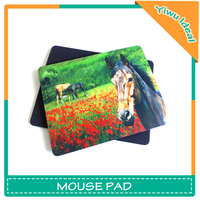 Fancy Animal Printed Rubber Game 3d Mouse Pad