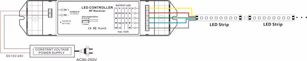 T6 R3m Dc 12 Volt Led Dimmer Multi