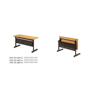 Integrated Conference Room Modular Folding Tables (FOH-TD-1207-G)