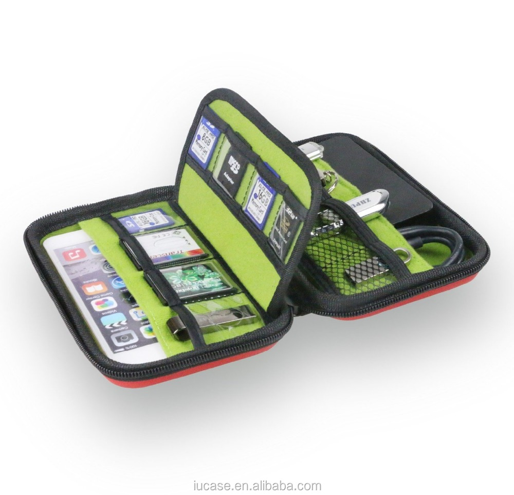 Universal Cable Organizer/Anti-shock Hard Drive Case/Electronics Accessories Travel Organizer