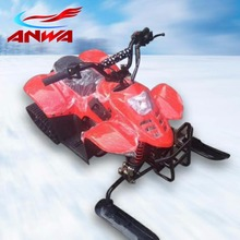 High Performance CE Approval 125cc Adult Electric ATV For Sale with atv snow track