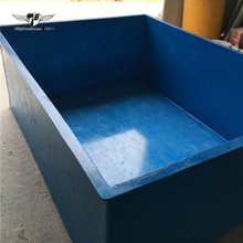 manufacture of aquaculture round large big frp fiberglass plastic tank koi fish ponds for sale