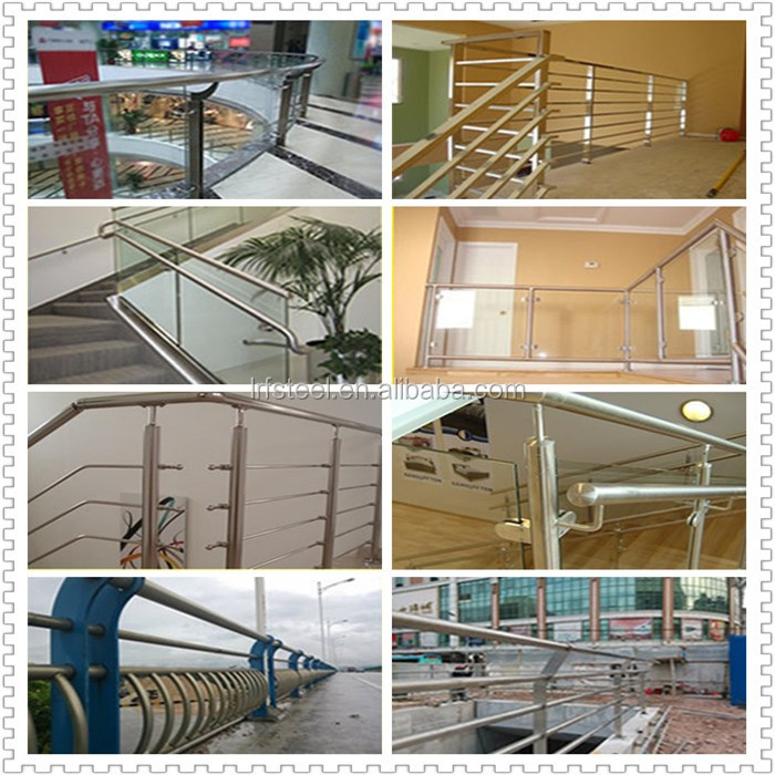 foshan , stainless steel stair handrail by design
