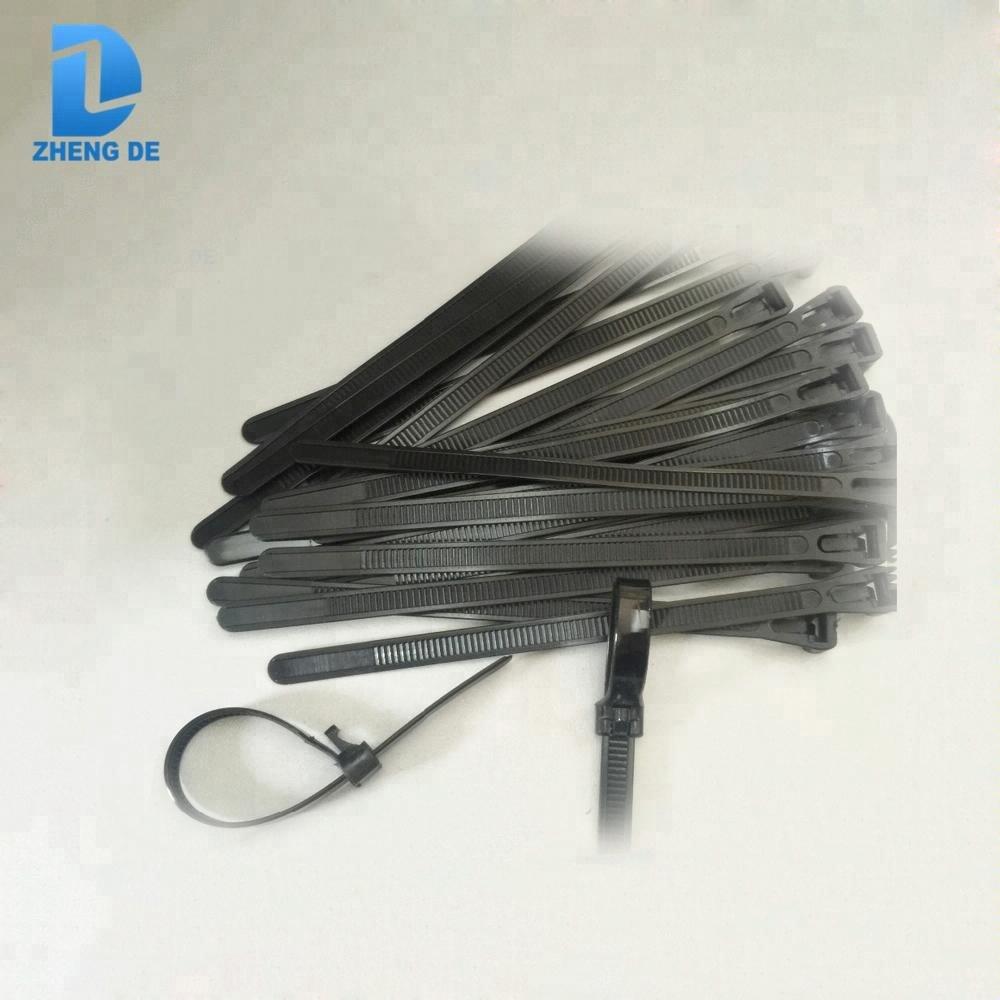 793d7fd36214 Plastic Reusable Nylon Cable Tie Nylon 66 Heat Resistant Zip Ties ...