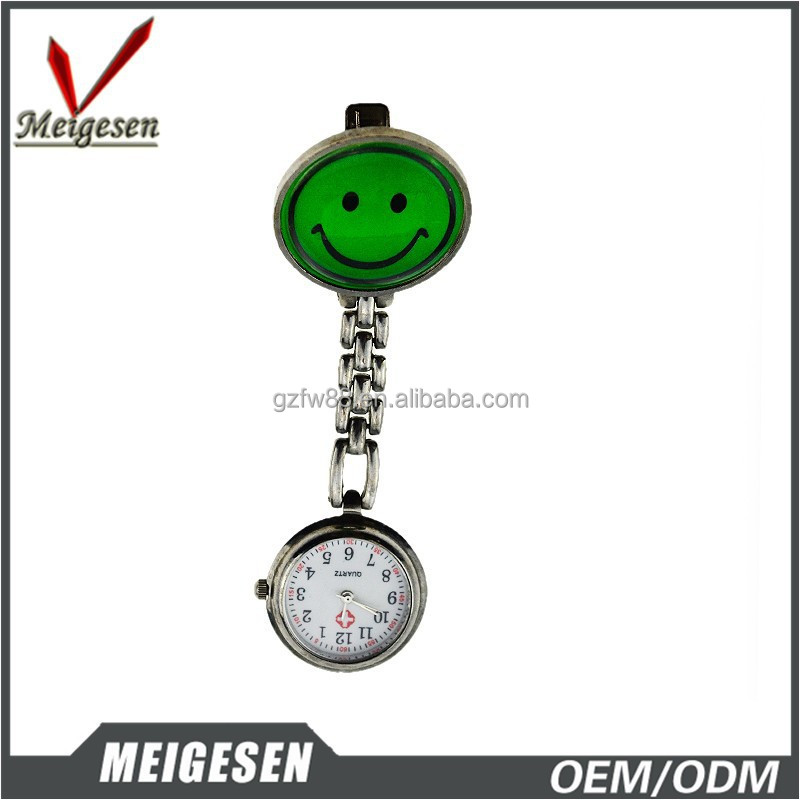 Fine quality Japan movt quartz alloy material watches for nurse 2015
