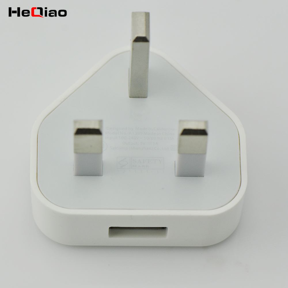 Parede carregador Para Apple iPod iPhone 5W Adaptador De Energia USB UK Plugue USB Carregador Genuíno