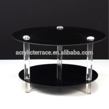 506132 Small Living Room Occasional Table Solid Acrylic Pillar Legs Side Tail Product On Alibaba